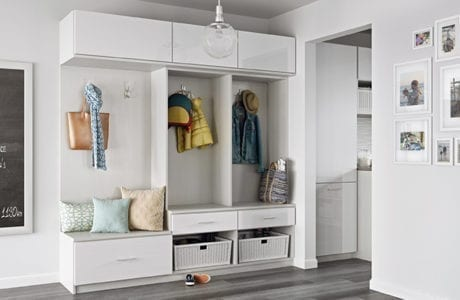 Wondrous Get A Mudroom Makeover From California Closets Caraccident5 Cool Chair Designs And Ideas Caraccident5Info