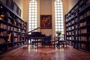 Una biblioteca para una pareja de Louisville