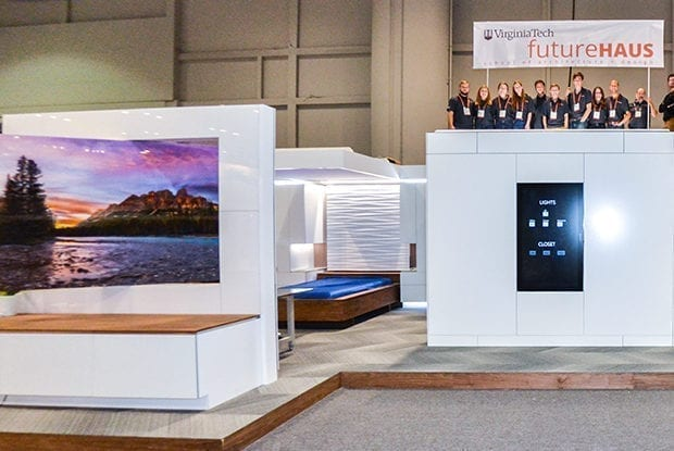 The Final Phase of Virginia Tech's FutureHAUS Revealed at KBIS