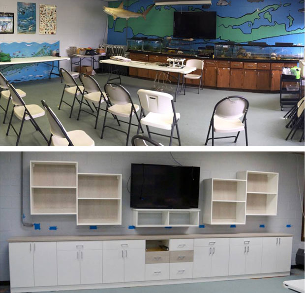 California Closets of Suffolk County Helps Bring an Environmental Learning Center's Vision to Life