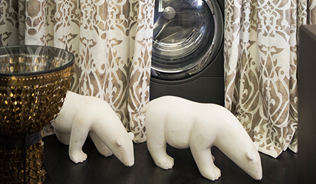 Susan Ferrier Client Story Decorative White Sculpted Polar Bears