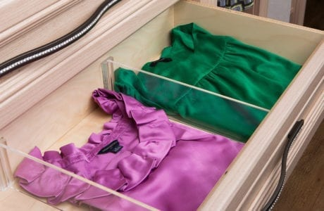 California Closets Drawer Dividers