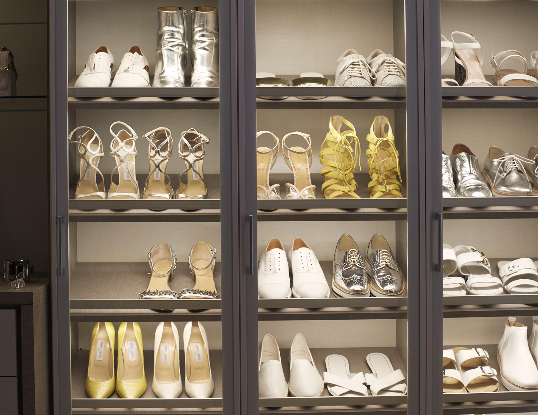 Picture of: Shoe Storage California Closets