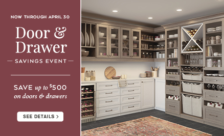 Door & Drawer Savings Event 2017