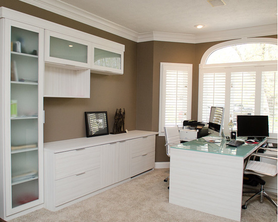 California Closets Indianapolis - Sleek Home Office