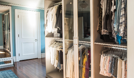 Charlotte Walk-in Closet Client Story