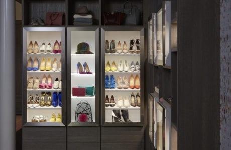California Closets Fashion Blogger Shelving Design Northern New Jersey