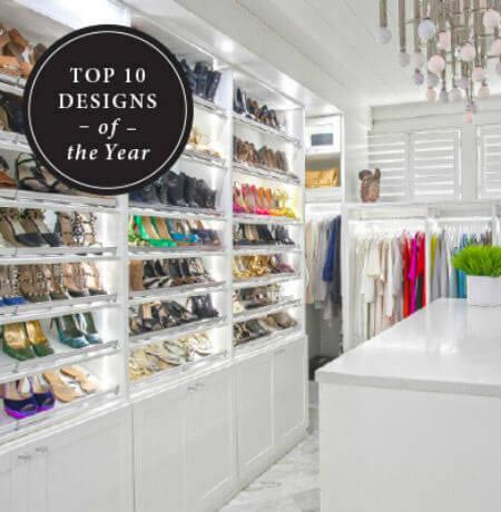 Closet Organization – Walk In Shoe Closet