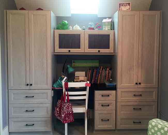 California Closets Twin Cities   Custom Built Wardrobe And Desk
