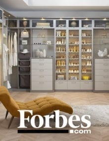 See how California Closets seamlessly blends a sophisticated, custom closet design with sustainable materials.