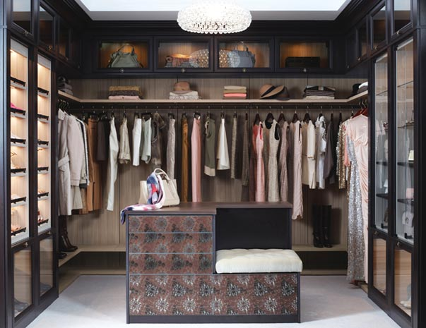 California Closets Orange County: Sartorial Spaces - Fashion Blogger Walk In Closet