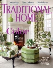 California Closets Featured In Traditional Home Magazine - April 2017