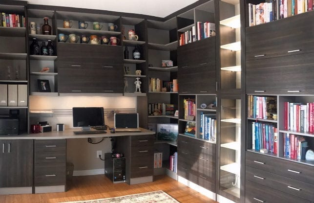 Home Office Meets Kid-Friendly Workspace