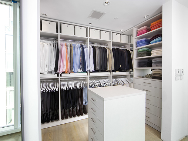 California Closets Greater Phoenix: Stylist Walk in Closet Storage System