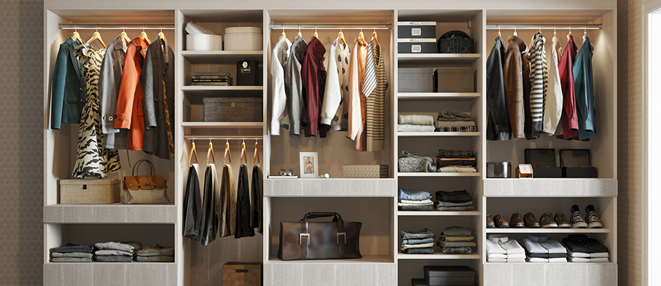 California Closets Rhode Island - Five Unexpected Places to Install Custom Shelving