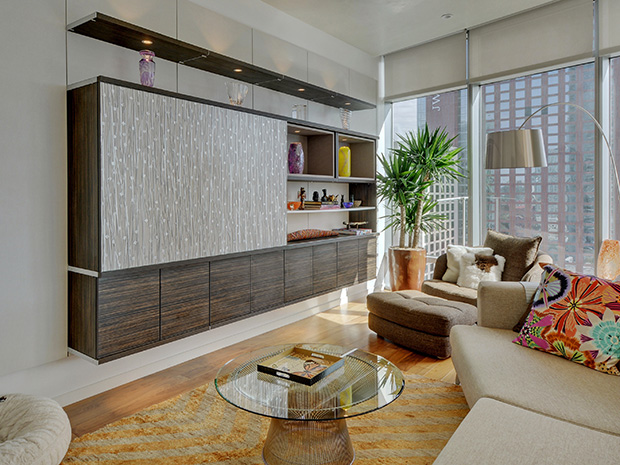 California Closets Ft. Worth - Entertainment Center System