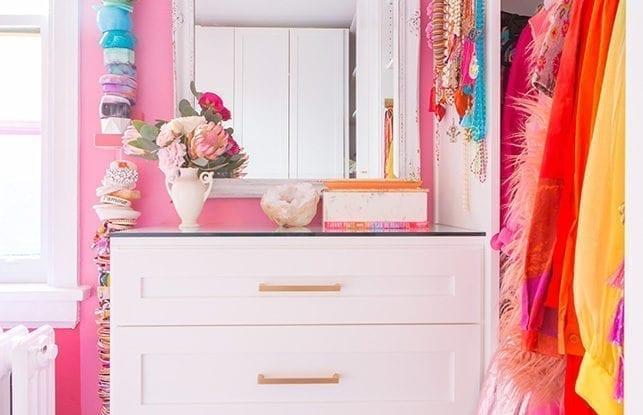 A Colorfully-Coordinated Closet for Designer Tiffany Pratt