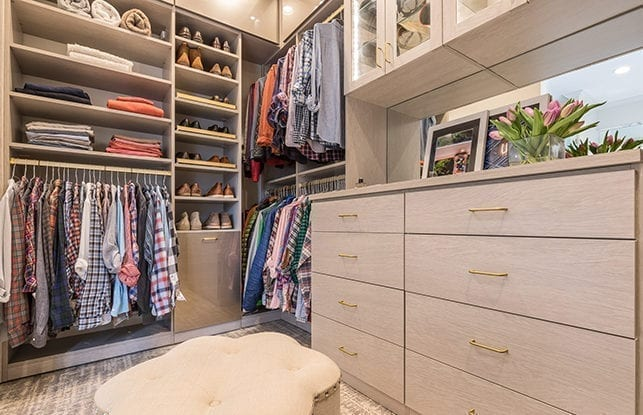 A North Carolina<br> Walk-In Closet<br> Fit For A Gentleman