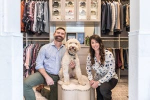 A North Carolina<br> Walk-In Closet<br> Fit For A Gentleman