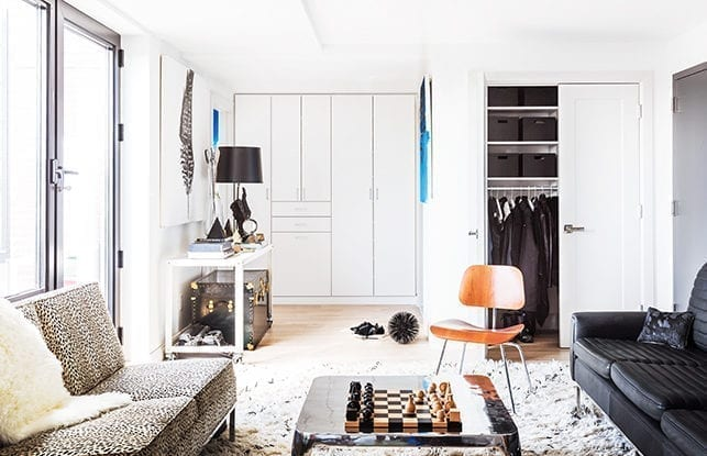 A  Seamless Transition for<br> Interiors and Prop Stylist<br> Erin Swift