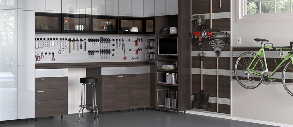 California Closets Denver   Transform Your Garage With Custom Garage  Cabinets