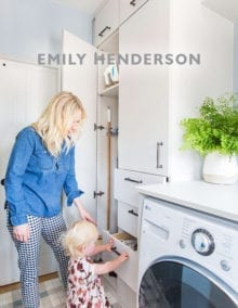 California Closets In the News - How Our New Laundry Room Came Together