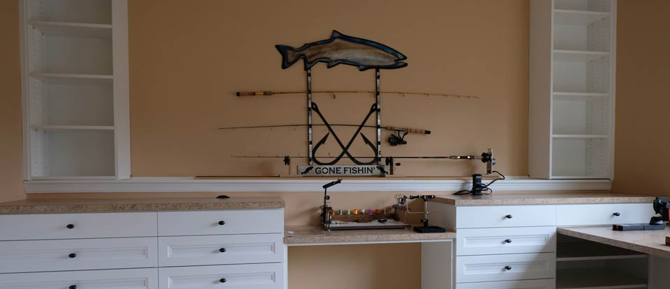 California Closets Minneapolis Creates a Fisherman's Sanctuary