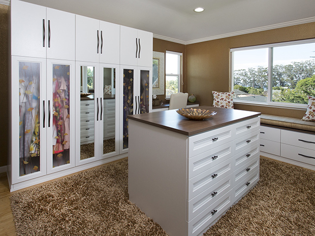 California Closets Santa Clarita - Create More Space in your Closet with Custom Cabinets