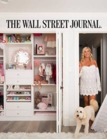 The Wall Street Journal features California Closets