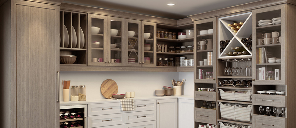 California Closets Richmond - Find Ingredients Quickly with an Organized Kitchen Pantry