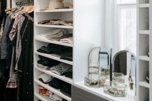 A Grown- Up Closet for <br>Lifestyle Blogger <br>Victoria Smith