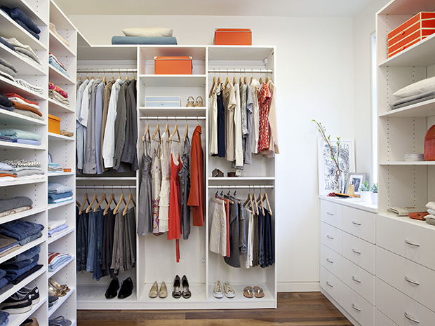 California Closets Virginia Beach - Custom Walk-In Closet System