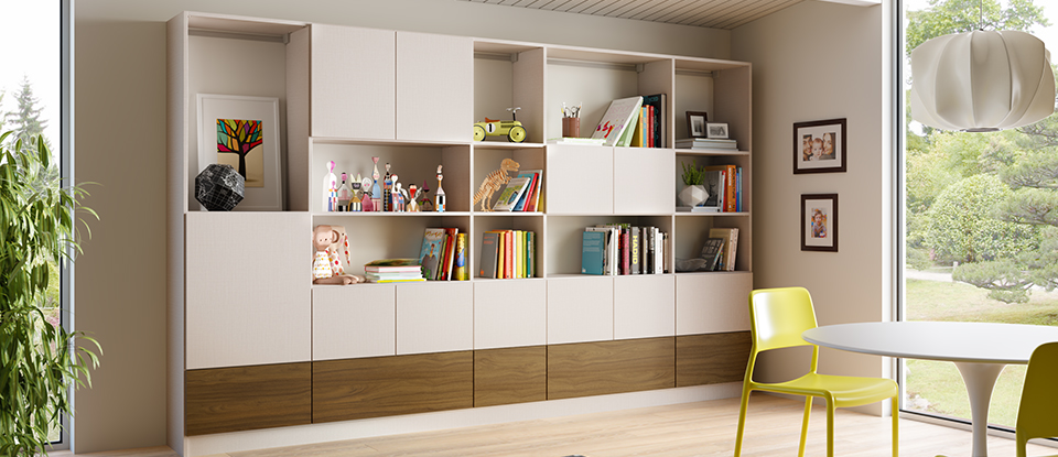 California Closets Cincinnati - Reduce Your Home Clutter with Custom Shelving