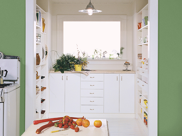 California Closets Central Illinois - Custom Pantry Storage Solution
