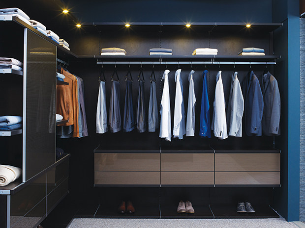 California Closets Miami - Custom Walk-In Closet