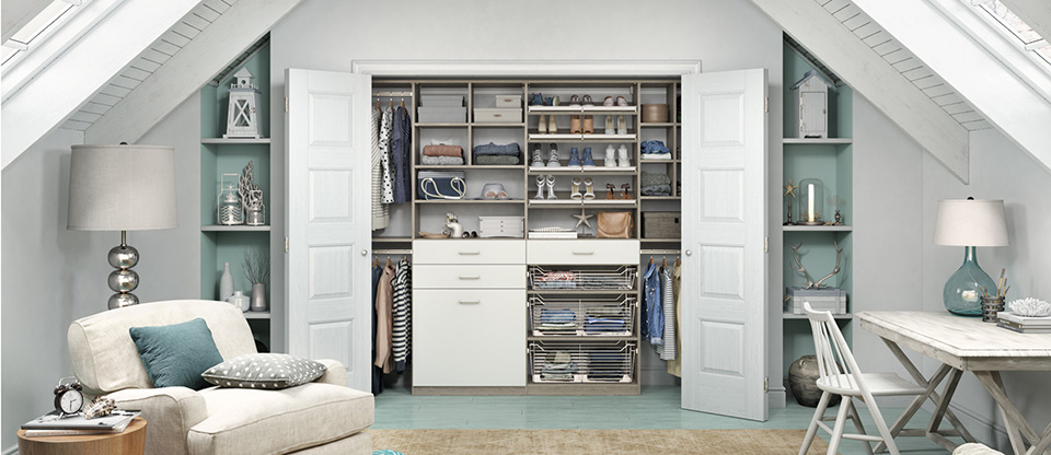 California Closets La Crosse - Three Tips for a Space Saving Closet Organization