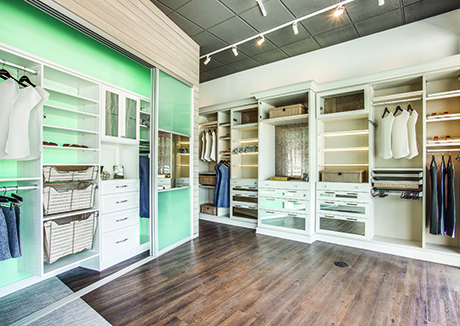 California Closets Showroom redesigned Interior Scottsdale