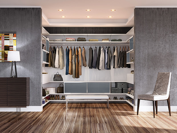California Closets Westchester - Walk-In Closet Storage System