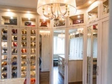 California Closet Client Story Jill K Shoe and Bag Storage