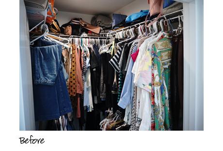 California Closets Client Story Becky Kung Velvet Vino Original Closet