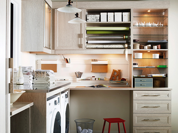 California Closets Ft. Myers-Naples- Custom Laundry Room Storage