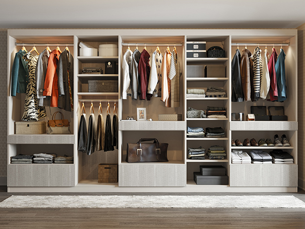 California Closets Albany - Walk-Through Wardrobe Unit