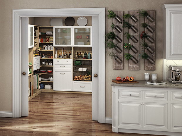 California Closets Chicago - Chef's Pantry System