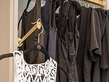 California Closets Chad Pruett Client Story Dresses Close Up