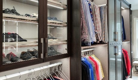 Local Client Story: His Closet- Michelle Mangini, Albany New York