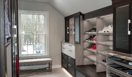 California Closets Michelle Mangini Client Story Closet Full with window
