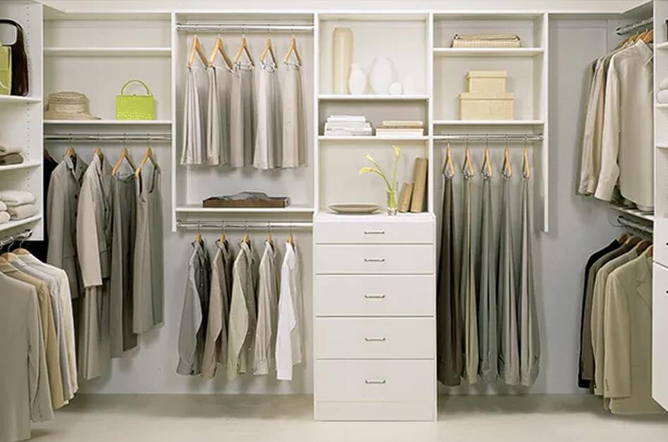 Fully Furnished Walk-In closet.