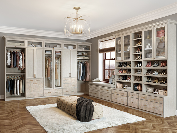 California Closets Ft. Worth - Walk-In Closet System