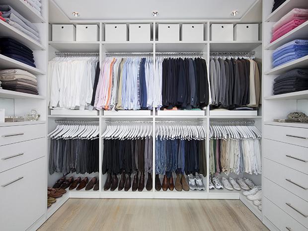 California closets roanoke custom walk in closet system