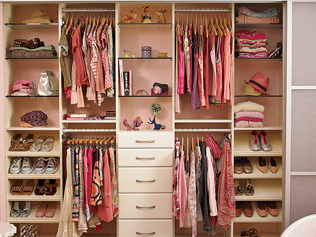 Ordinaire California Closets KC   Custom Kids Closet System